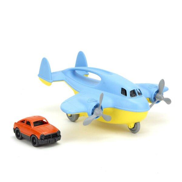 Cargovliegtuig met mini-auto