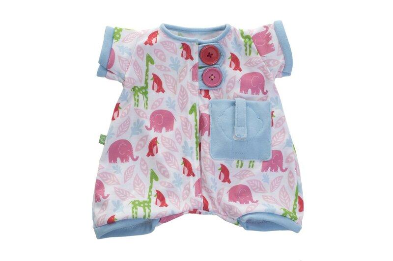 Baby serie pyjamaset roze