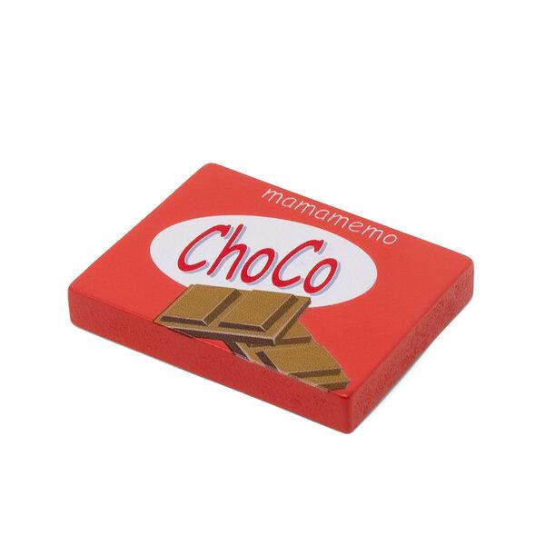 Houten chocoladereep