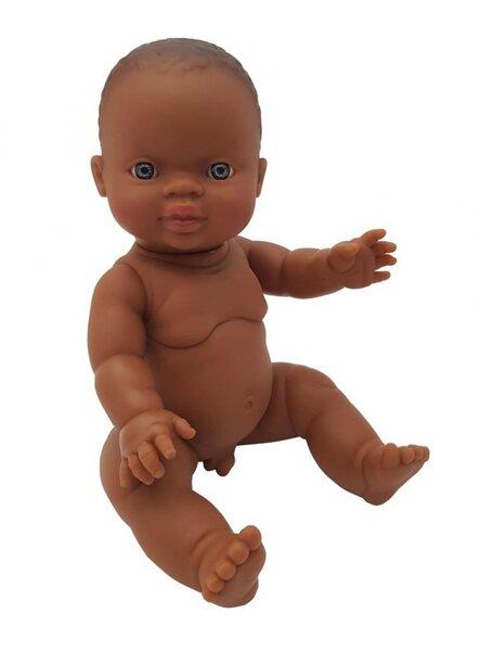 Gordis babyjongen donker (34 cm)