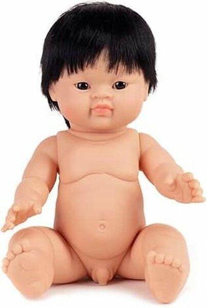Gordis babyjongen Aziatisch met kort haar (34 cm)