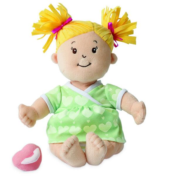 Stoffen pop Baby Stella Blonde Doll (38 cm)
