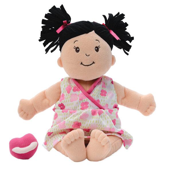 Stoffen pop Baby Stella Brunette Doll (38 cm)