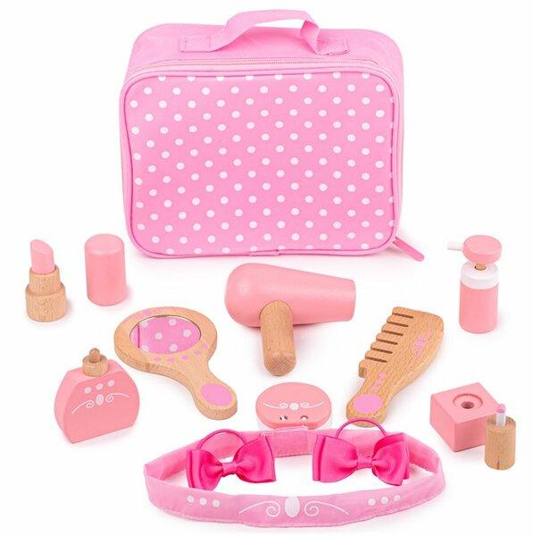 Make-up speelset in tas