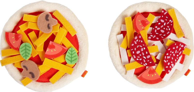 Mini-pizza's om zelf te beleggen