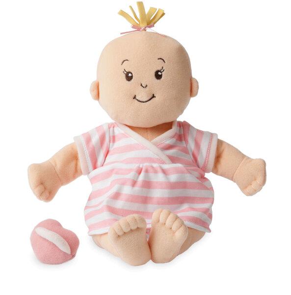 Stoffen pop Baby Stella Peach Doll (38 cm)