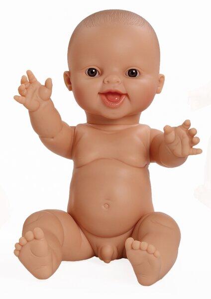 Gordis babyjongen blank lachend (34 cm)