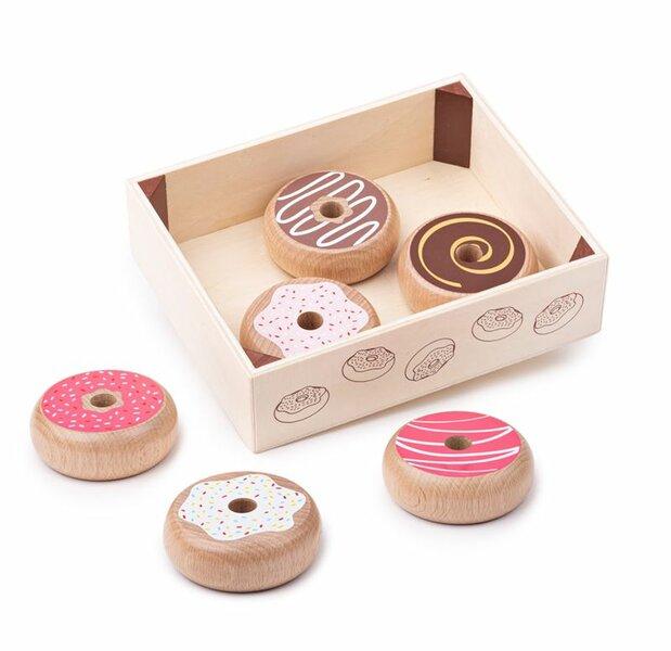 Kratje met donuts (7 delig)