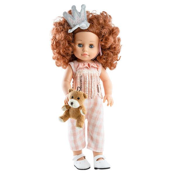 Soy Tu pop Becca met teddybeer (42 cm)