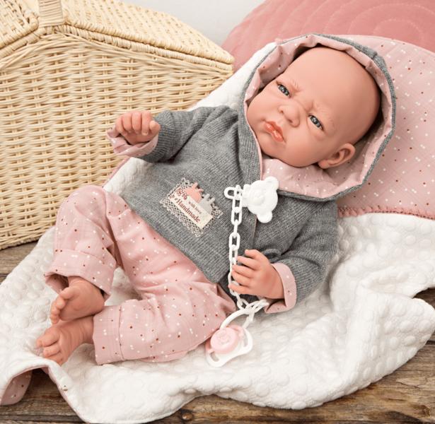 Mijn eerste Reborn pop baby Dauphine