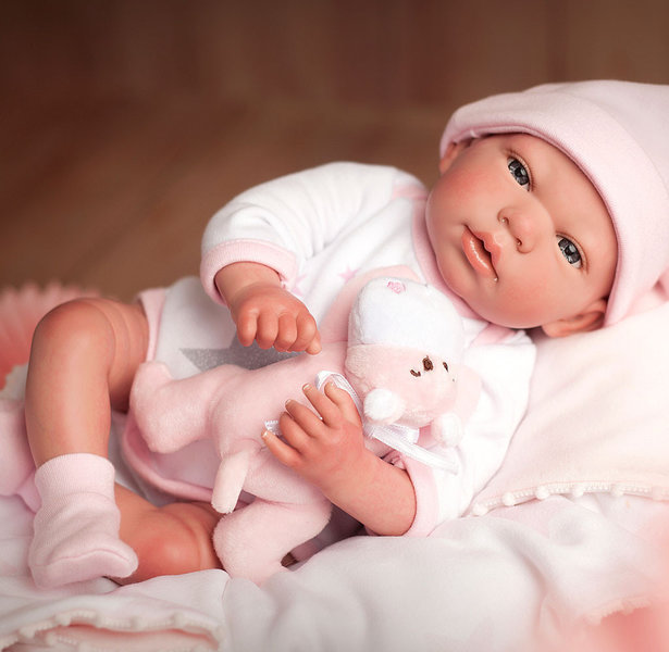 Reborn pop baby Aukje