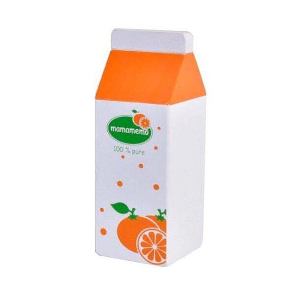 Houten pak Sinaasappelsap