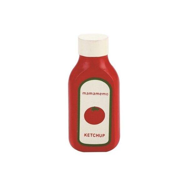 Houten Fles Ketchup