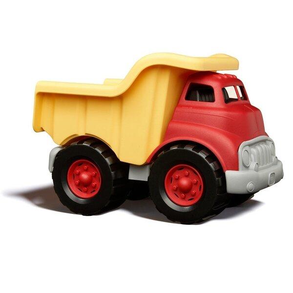 Dumper truck rood/geel