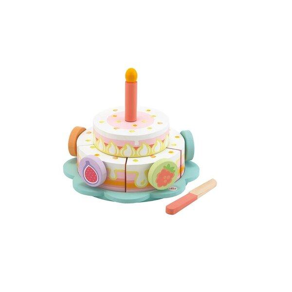 Verjaardagstaart Happy Birthday Cake set