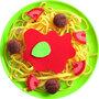 Bord met Spaghetti Bolognese