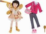 Kruselings Luna Deluxe doll set (23 cm)