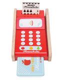 Houten pinautomaat