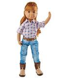 Kruselings pop met Kruselings kledingset Chloe Riding Cowgirl Outfit