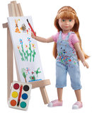 Pop met Kruselings Chloe - Easel Painting Set (23 cm)