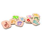 Gebaren (ASL) cijfers 1 - 10_