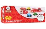 Autotransportvrachtwagen met 4 auto's_