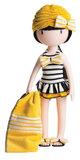 Santoro Gorjuss poppenkleding outfit Beach Belle (32 cm)_