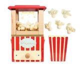 Geheel houten Popcorn Machine