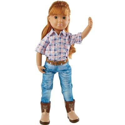 Kruselings pop Chloe Riding Cowgirl (23 cm)
