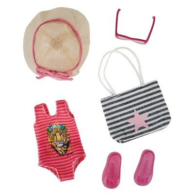 Kruselings kledingset Beach Party Outfit (23 cm)