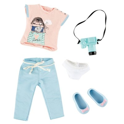 Kruselings kledingset Luna Cute Photographer Outfit (23 cm)