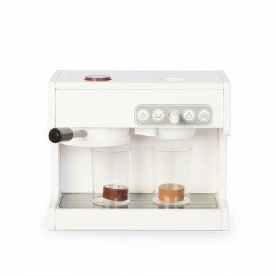 Espressomachine met 2 acrylbekers