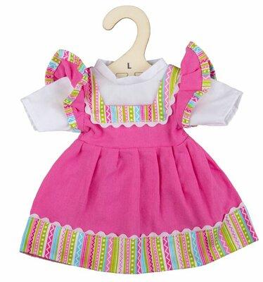 Kledingset 35 cm Roze jurk in dirndl stijl Large