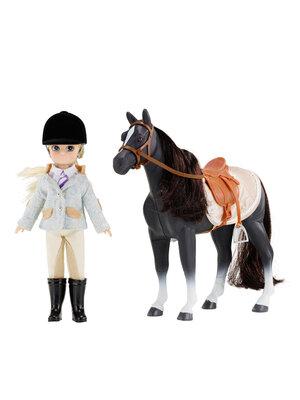 Lottie pop en paard Pony Club