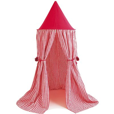Hanging Tent Red Gingham