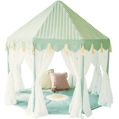 Pavilion met Quilt Willow Green