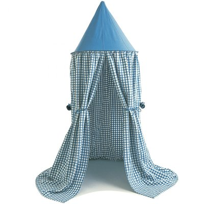 Hanging Tent Blue Gingham