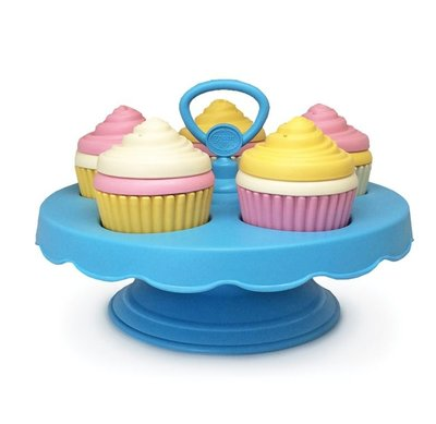 Cupcakes met Etagère