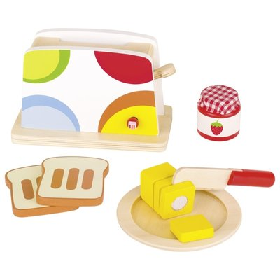 Broodrooster ontbijtset (10 delig)