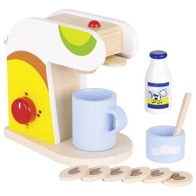 Houten koffiecups koffiezetapparaat (13 delig)