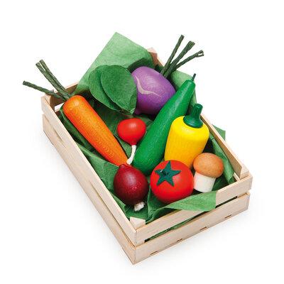 Assortiment groenten in krat (10 delig)