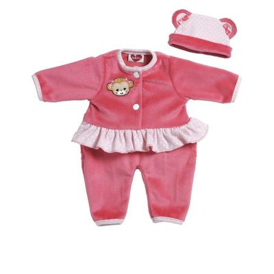 PLAY TIME CLOTHES - PINK MONKEY