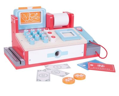 Kassa met scanner