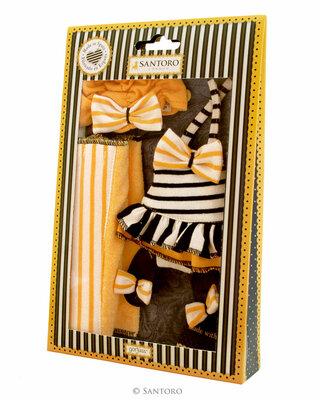 Santoro Gorjuss poppenkleding outfit Beach Belle (32 cm)