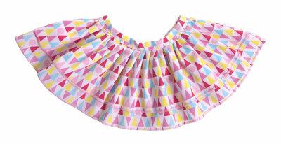 Rubens Kids kleding Geometric Skirt