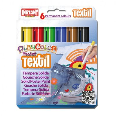 Instant Color Pocket Textil (6 stiften)