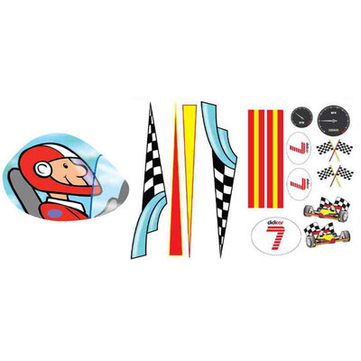 Didicar Sticker Pack Racer