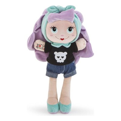 Stoffen pop Sweet Trudimia Tattoo Girl Violet Hair (28 cm)