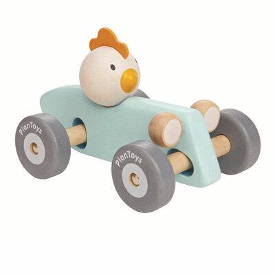 Chicken racewagen
