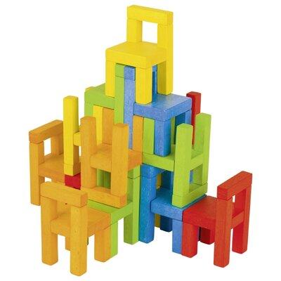 Balanceer stoelen spel (24 delig)